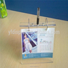 High Quality Cheap 2016 Acrylic Photo Frame Calendars holder