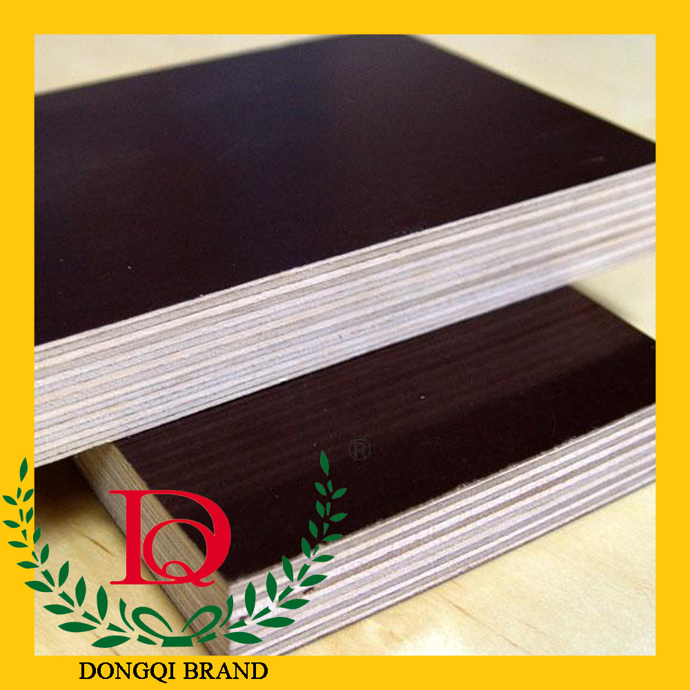 WBP melamine glue black film faced plywood waterproof plywood