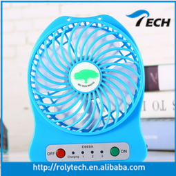 Original Cooler Mini Portable Pocket Table Electrical USB Fan Hand Held USB and Battery Rechargeable Air Conditioning