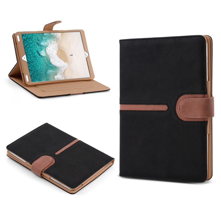 PU Leather Buckle Suede Tablet Case For IPad 2/3/4 /5/6 Air 1 /2 Pro 9.7 2016 Stand Cover For Ipad Pro 9.7 2018 10.5 12.9 2017