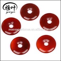 Hot Sale Fashional Carnelian Donut Hole Pendants as Gift & Decoration /Promotional Product for Hallowas
