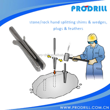 Hand held Splitter for rock environmently
