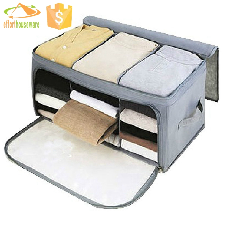 Blanket Quilt large storage bags/Folding Underbed Clothes storage bags Organiser