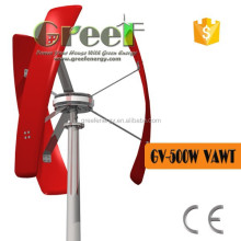 wind generator 500w vertical axis , electric generating windmills for sale