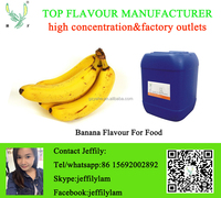 High concentration banana flavor for food