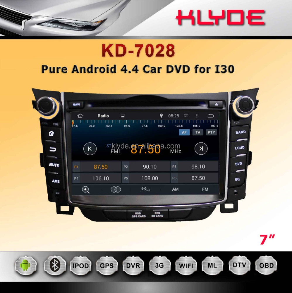 ATTENTION !!!TOUCH SCREEN CAR RADIO DVD WITH GPS NAVIGATOR FOR I30 WITH FREE MAP+3G WIFI HD