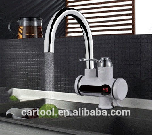 Bathroom Kitchen Digital Display Fast Heating Electric Water Heater Tap
