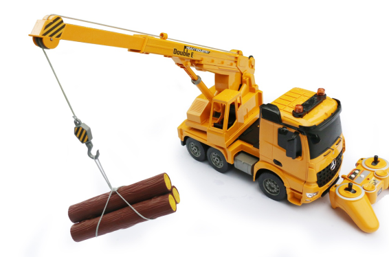 Chinatopwin Mercedes-benz authorized large crane 1:20 remote control car