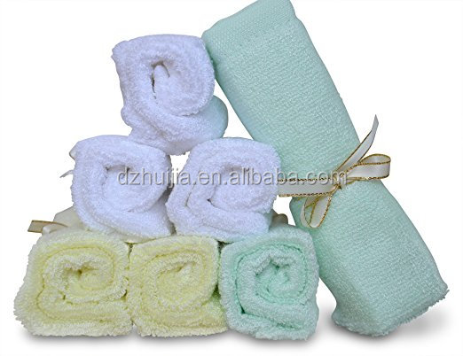100% Organic <strong>Cotton</strong> Or Bamboo Baby Washcloths For The Good Baby