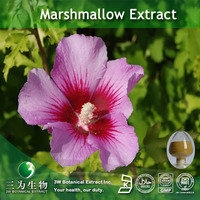 GMP Factory provide Marshmallow Botanical Extract in 3W Factory