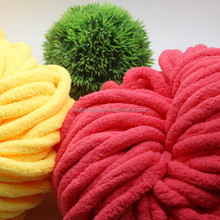 2016 new product anti-pilling chunky hand knitting yarn ice yarn in various colors