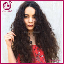 Cheap wholesale body wave long black brazilian invisible part wig remy human hair, brazilian human hair wig