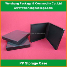 Luxury Elegance Book-shape Plastic Box/Case For Cosmetic Packaging