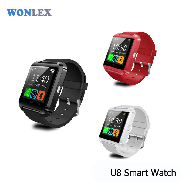 Wonlex Bluetooth Smart Wrist Watch U8 Phone Mate For Android&IOS