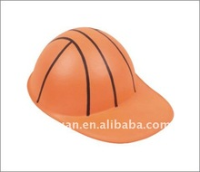EVA hat with basketball imprint