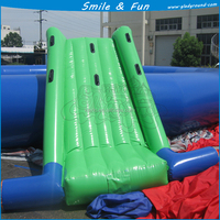 Funny game giant inflatable water slide for sale