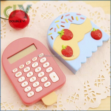 Custom desktop Mini Calculator / colorful dual power pocket / Gift Calculator