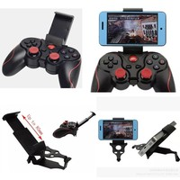 Android Multimedia Bluetooth Wireless Game Controller, Android Compatible Gamepad Game Console Game Controller Bluetooth Support