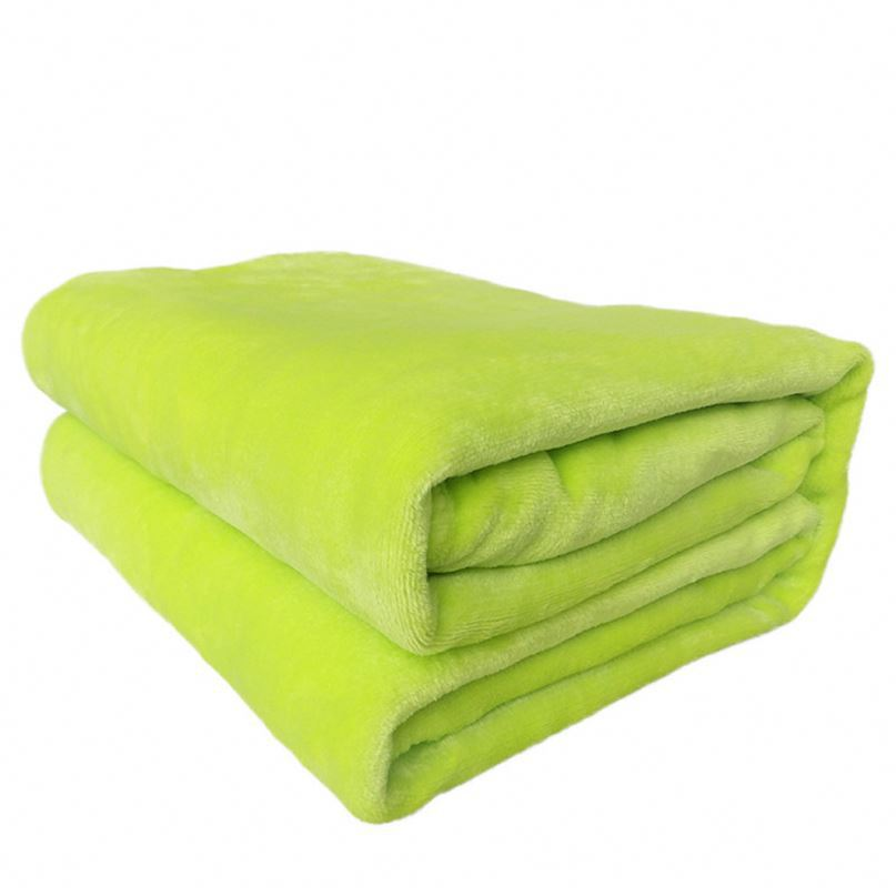 JCPenny in cooperation Factory price Lint free machine washable check printed designs polar fleece blankets