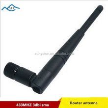 Factory price Best selling product long range Foldable Portable 433mhz antenna 3dbi