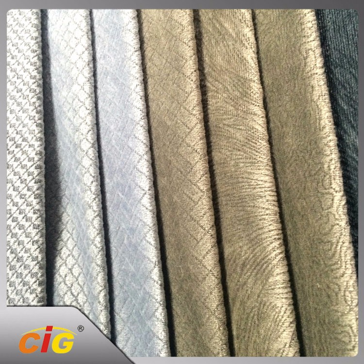 OEM Available  Durable burnout curtain fabric