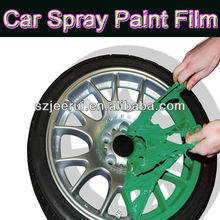 matte color,car decoration paint,rubber spray paint,arcylic washable anti uv removable pigment, peelable liquid paint for cars
