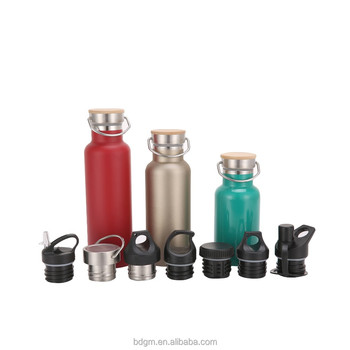 Whole bottle in 18/8 stainless steel double wall thermos vaucum water flask