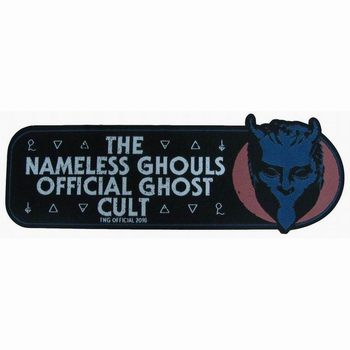 THE NAMELESS GHOULS OFFICIAL GHOST CULT PATCH