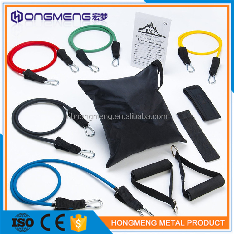 Resistance tube ankle cuff resistance bands ,training resistant band rope tube