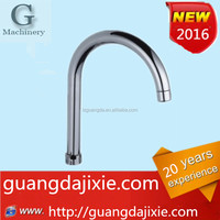 The kitchen faucet outlet pipe stainless steel elbow bend umbrella