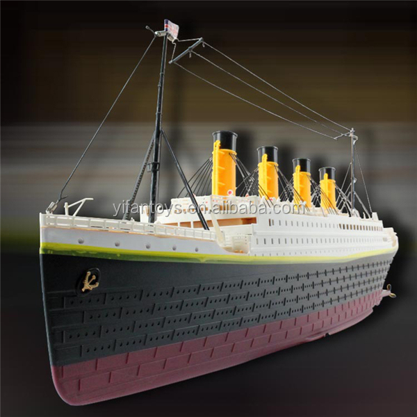 1:325 Scale RC Titanic Boat Ship Model TOYS with Light and Music for sale