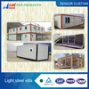 Low cost container home,student house, new design modular apartment.