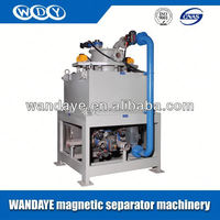 China Manufacturer Foshan WanDaYe Oil And Water Compound Cooling Wet Electric Magnetic Mineral Touch Screen Separator Machine