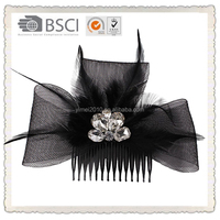 Wedding jeweled hair clips for wedding decoration , magic hair clip