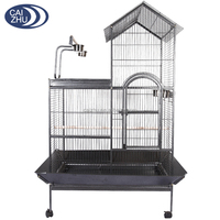 2016 Chinese unique design stainless steel parrot breeding bird cage