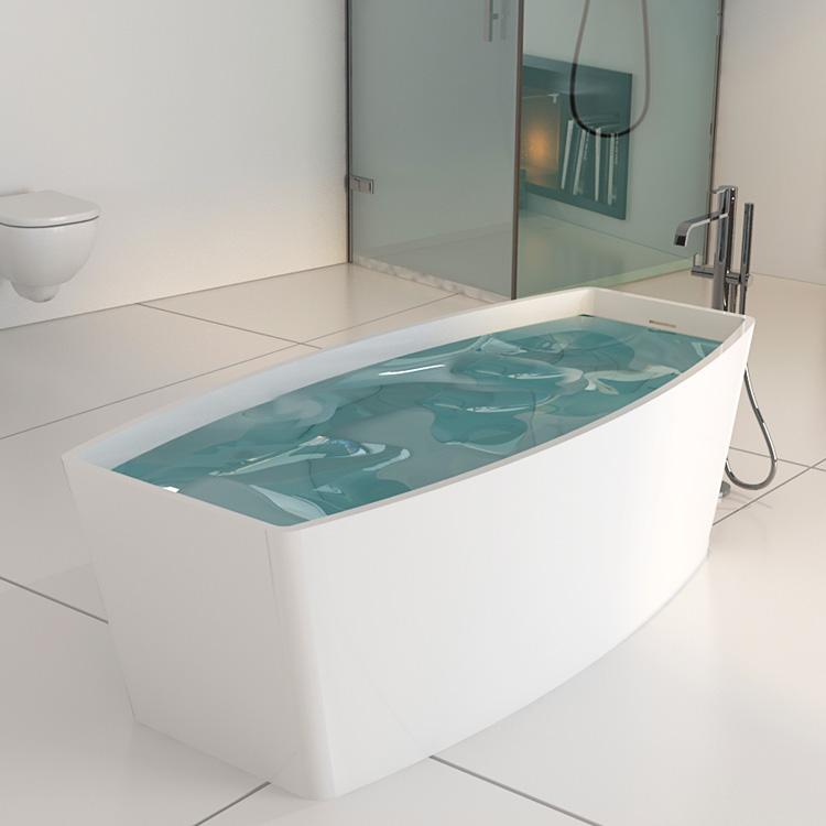 Solid Marble Stone Freestanding Bath Tub Bs-8618 - Buy Bath ...