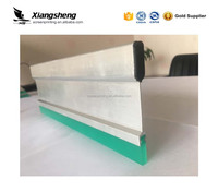 free sample aluminum screen printing squeegee rubber handle