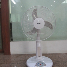 Green Energy Power-saving Battery/Solar Operated Rechargeable Emergency electric Fan with Remote Control For Outdoor/Indoor Use