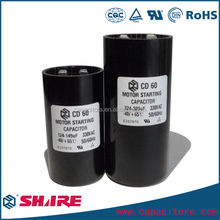 250v motor starting capacitors cd60 with 400 uf mfd