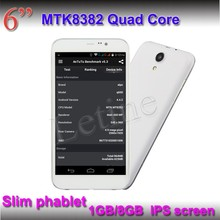 2015 Latest 6 Inch Cheap Tablet Phone With Dual SIM Tablet Phone MTK8382 Quad Core Tablet PC With Phone Function China Wholesale