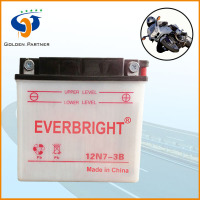 Well sale three wheel motorcycle battery 12V dry battery Best supplier on alibaba