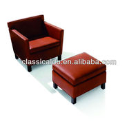 Modern Simple Design Leather Office Sofa Furniture SF-500-B