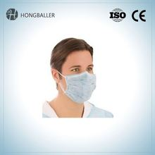 Flat Ear Disposable Nonwoven Loop N95 Dust Face Mask