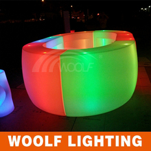 Bar Furniture Glowing led Bar Modern Lighted Movable bar Counter