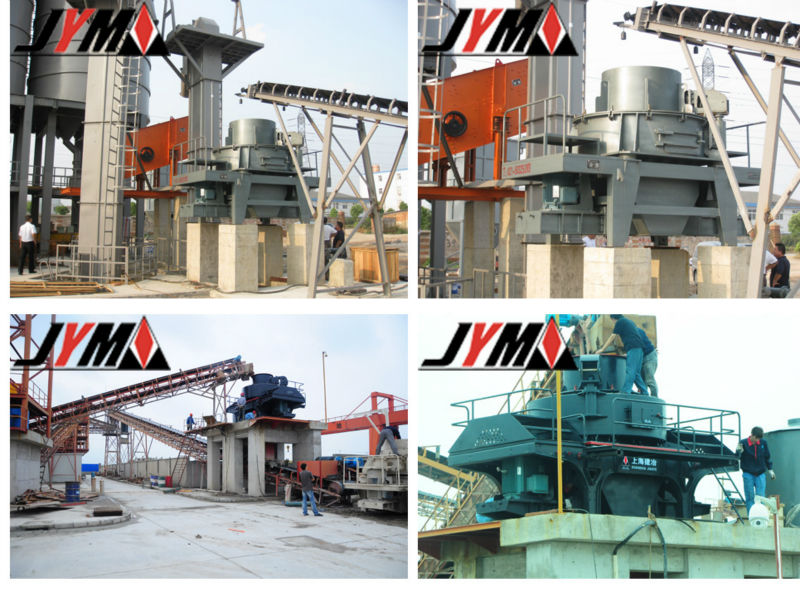 Sand making machine PCL-600B, VSI impact crusher, rock crusher price