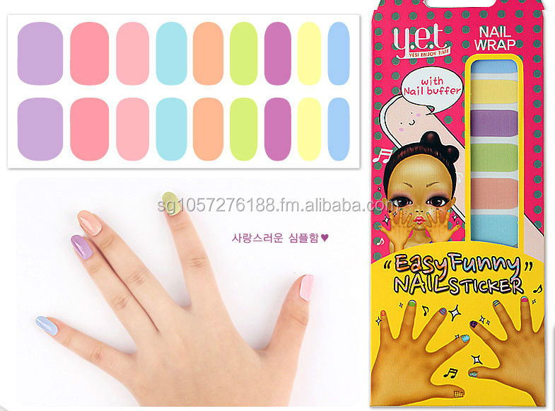Korea Nail Sticker - Candy Dream