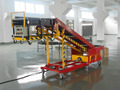 carbon steel belt conveyor for truck loading unloading
