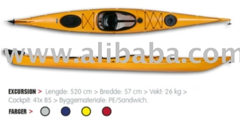 Norway Yellow Hasle Excursion Sea Kayak