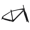 FM190 UD Matt BSA 100mm QR thru axle mtb carbon fat bike frame 26er