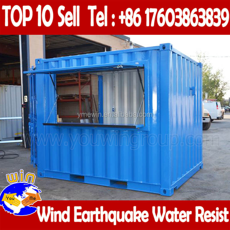 low price prefabricated modular house for marking container